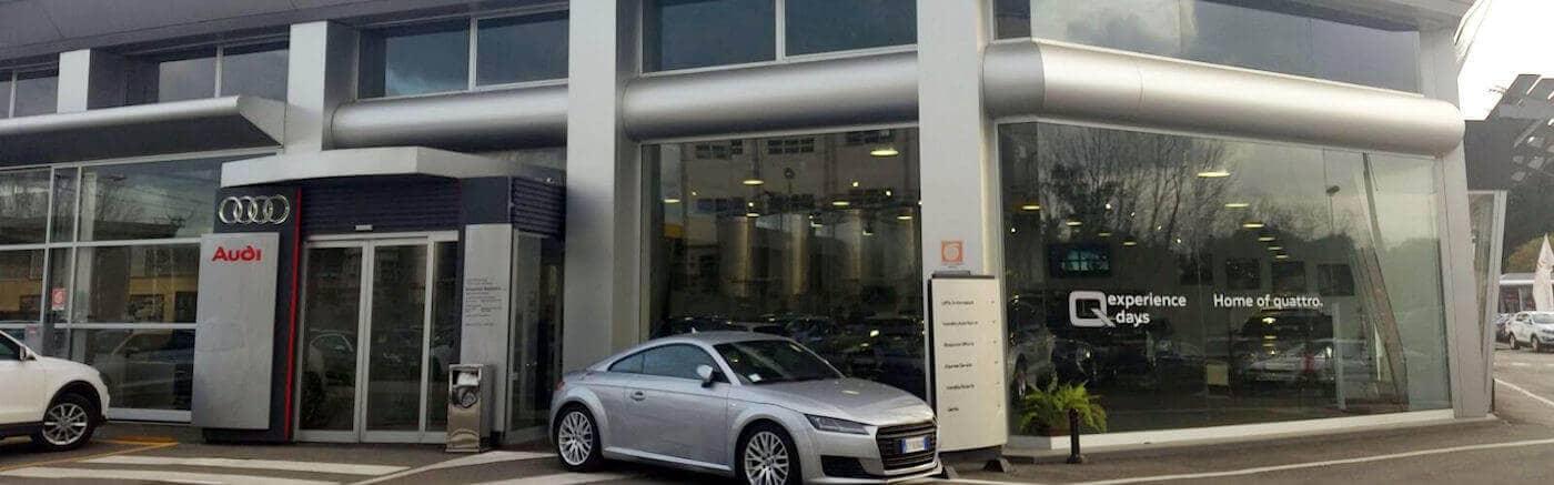 Salone Audi Roma Via Appia Nuova 803